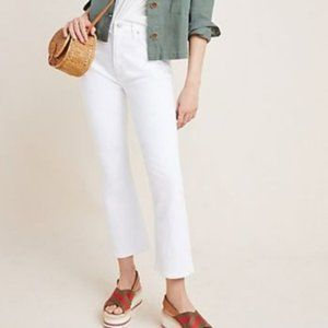 NWT Anthropologie Citizens of Humanity White Jeans